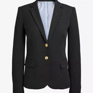 NWT J. Crew Schoolboy Grey Lined Blazer